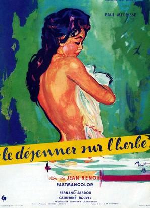 Le déjeuner sur l'herbe - French Movie Poster (thumbnail)