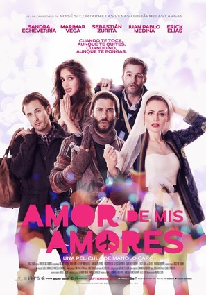 Amor de mis Amores - Mexican Movie Poster (thumbnail)