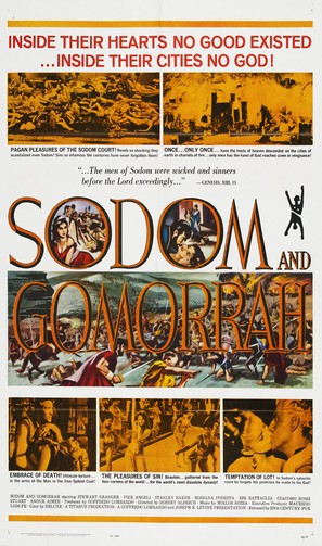 Sodom and Gomorrah - Movie Poster (thumbnail)