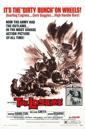The Losers - Theatrical movie poster (thumbnail)