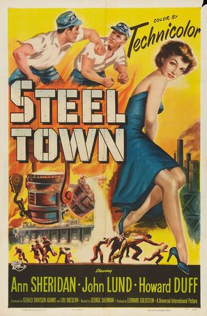 Steel Town - Movie Poster (thumbnail)