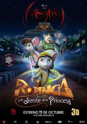 Rodencia y el Diente de la Princesa - Peruvian Movie Poster (thumbnail)