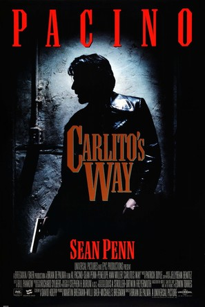 Carlito's Way - Movie Poster (thumbnail)