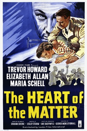 The Heart of the Matter - British Movie Poster (thumbnail)