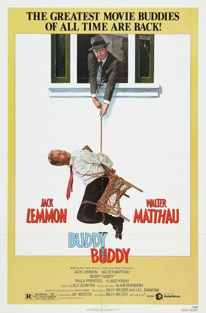 Buddy Buddy - Theatrical movie poster (thumbnail)