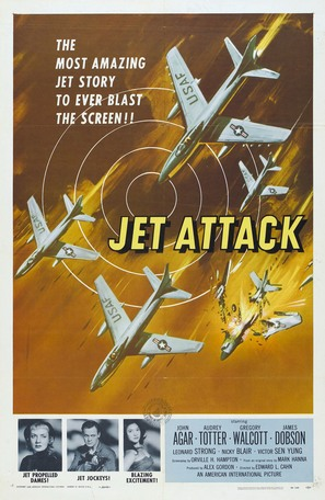 Jet Attack - Movie Poster (thumbnail)
