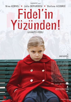 Faute à Fidel, La - Turkish poster (thumbnail)