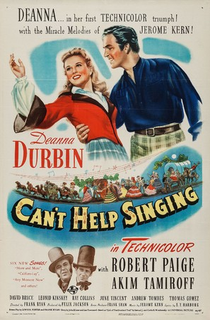 Can't Help Singing - Movie Poster (thumbnail)