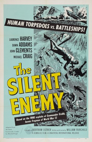 The Silent Enemy - Movie Poster (thumbnail)