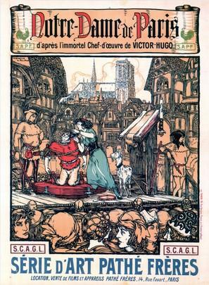 Notre-Dame de Paris - French Movie Poster (thumbnail)