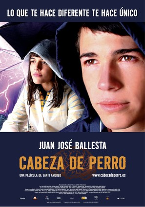 Cabeza de perro - Spanish Movie Poster (thumbnail)