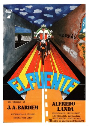 El puente - Spanish Movie Poster (thumbnail)