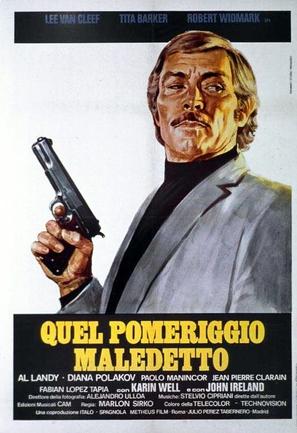 Quel pomeriggio maledetto - Italian Movie Poster (thumbnail)