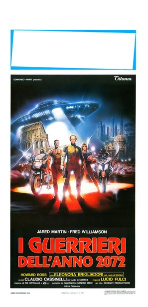 I guerrieri dell'anno 2072 - Italian Movie Poster (thumbnail)