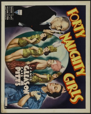 Forty Naughty Girls - Movie Poster (thumbnail)