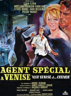 Agent spécial à Venise - French Movie Poster (thumbnail)