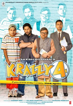 Krazzy 4 - Indian Movie Poster (thumbnail)