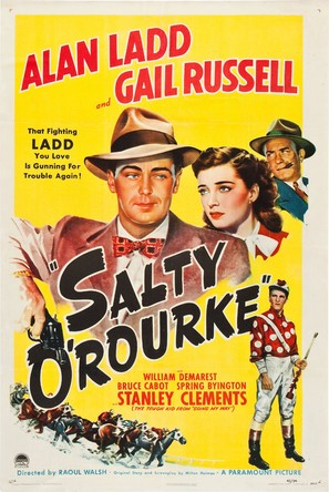 Salty O'Rourke - Movie Poster (thumbnail)
