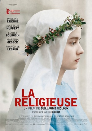 La religieuse - French Movie Poster (thumbnail)