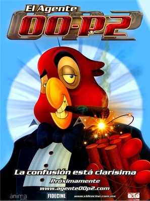 Agente 00-P2, El - Mexican Movie Poster (thumbnail)