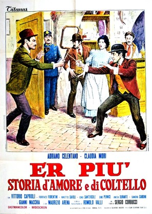 Er più: storia d'amore e di coltello - Italian Movie Poster (thumbnail)