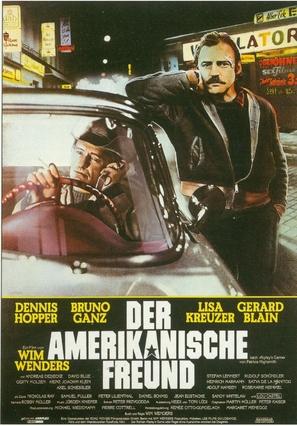 Der amerikanische Freund - German Movie Poster (thumbnail)