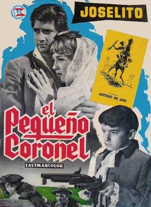 El pequeño coronel - Spanish Movie Poster (thumbnail)