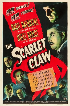 The Scarlet Claw - Movie Poster (thumbnail)