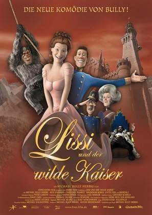 Lissi und der wilde Kaiser - German Movie Poster (thumbnail)