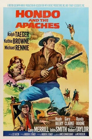Hondo and the Apaches - Movie Poster (thumbnail)