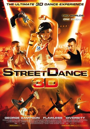 StreetDance 3D - British Movie Poster (thumbnail)