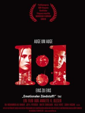 1:1 - German Movie Poster (thumbnail)