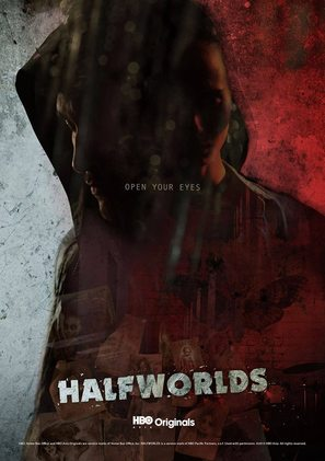 """""""Halfworlds"""" - Indonesian Movie Poster (thumbnail)"""