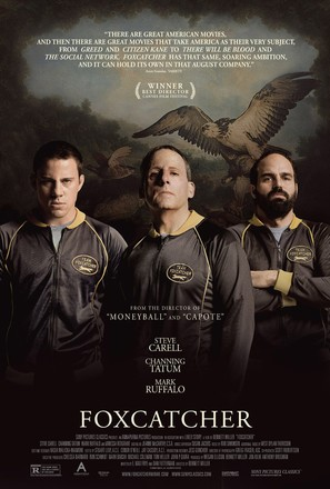 Foxcatcher - Theatrical movie poster (thumbnail)