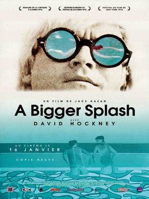 A Bigger Splash - French Movie Poster (thumbnail)