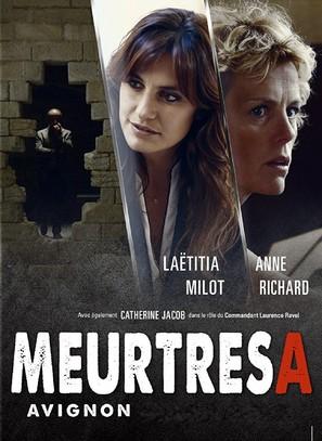 """Meurtres à..."" Meurtres à Avignon - French DVD movie cover (thumbnail)"
