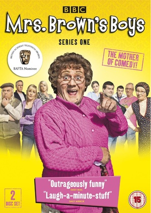 """Mrs. Brown's Boys"" - British DVD movie cover (thumbnail)"