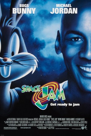 Space Jam - Theatrical movie poster (thumbnail)