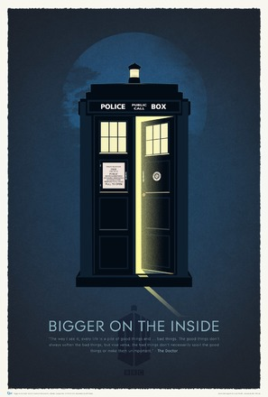 """Doctor Who Confidential"" - British Movie Poster (thumbnail)"