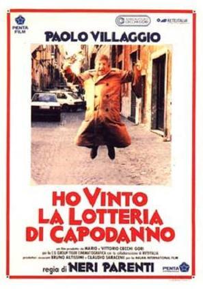 Ho vinto la lotteria di Capodanno - Italian poster (thumbnail)
