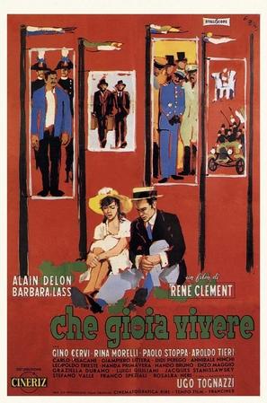 Che gioia vivere - Italian Movie Poster (thumbnail)