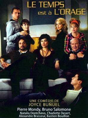 Le temps est à l'orage - French Movie Cover (thumbnail)