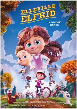 Elleville Elfrid - Norwegian Movie Poster (thumbnail)
