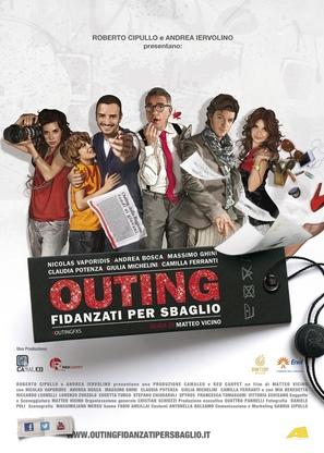 Outing - Fidanzati per sbaglio - Italian Movie Poster (thumbnail)