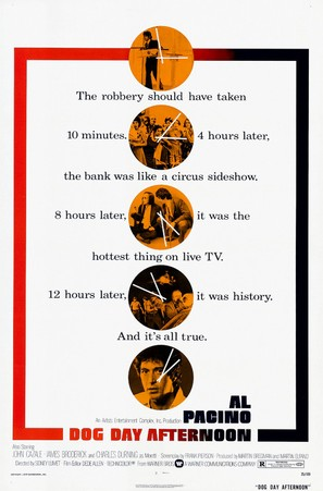 Dog Day Afternoon - Theatrical movie poster (thumbnail)