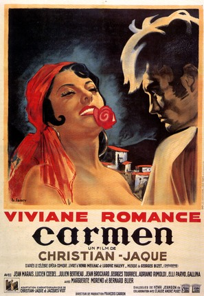 Carmen - French Movie Poster (thumbnail)