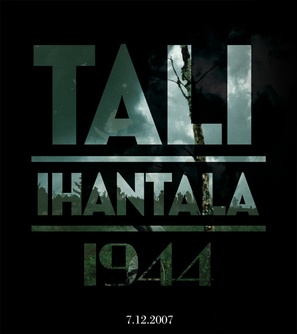 Tali-Ihantala 1944 - Finnish Movie Poster (thumbnail)