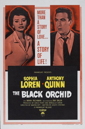 The Black Orchid - Movie Poster (thumbnail)