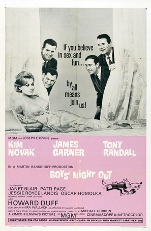 Boys' Night Out - Movie Poster (thumbnail)