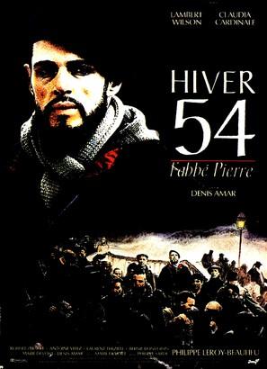 Hiver 54, l'abbé Pierre - French Movie Poster (thumbnail)
